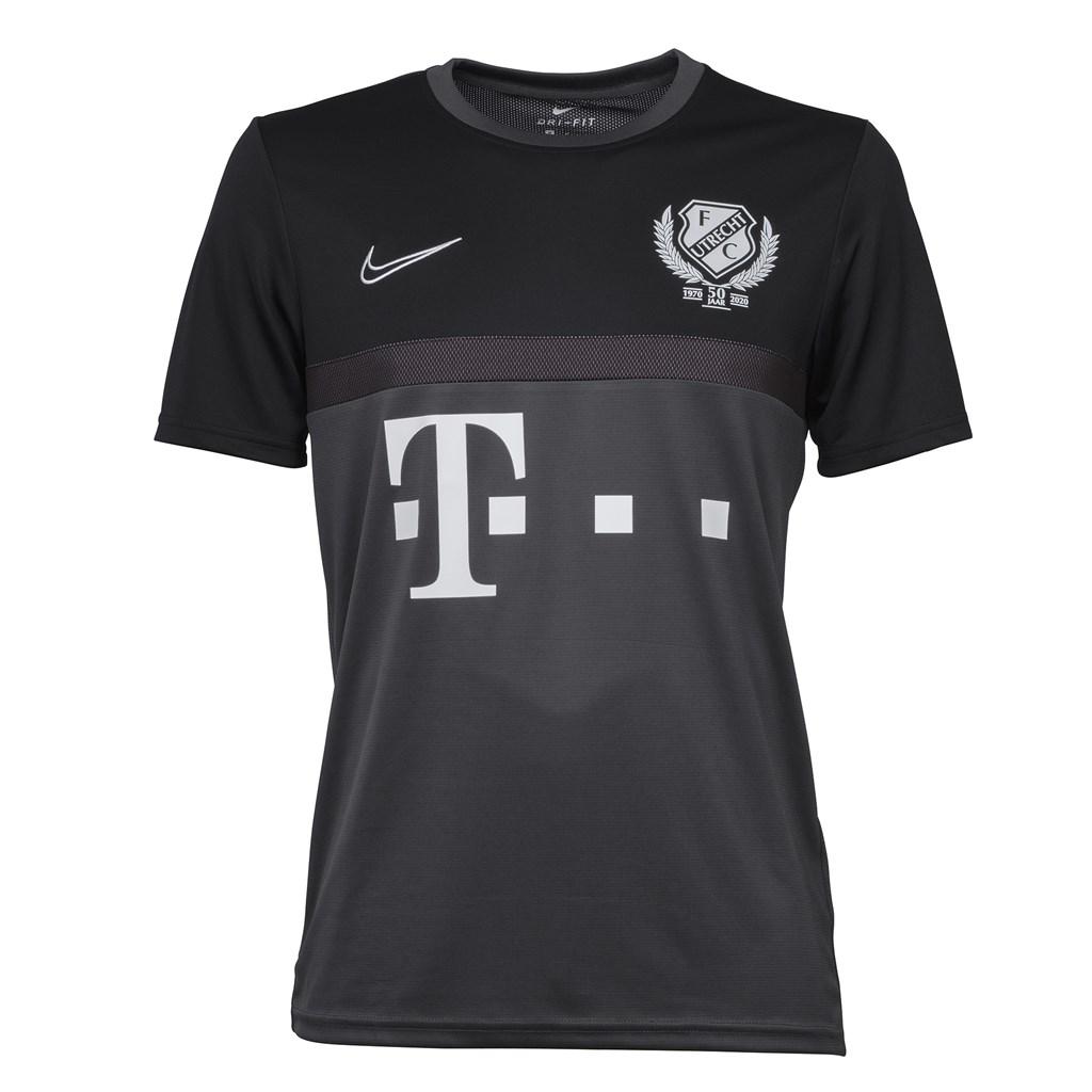 Fc Utrecht Trainingsshirt 20 21 Zwart Grijs