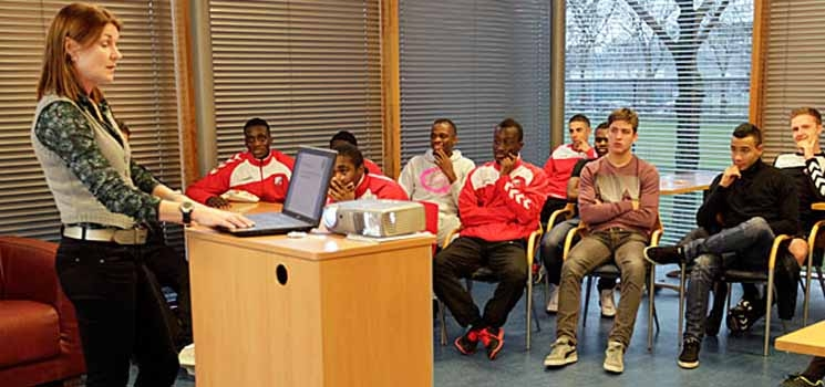 FC Utrecht Academie start workshops