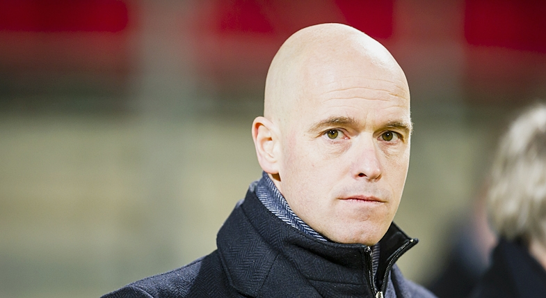Erik ten Hag trainer/coach en technisch manager